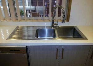 Benchtops and splashbacks